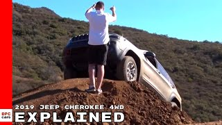 Jeep Cherokee 2019 4WD System Explained