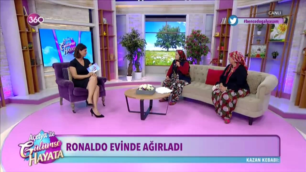 Ümmiye Teyze Ronaldonun reklam filmini çekti