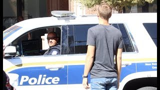 Telling Police Officers That I'm High