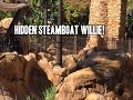 Hidden Steamboat Willie - Magic Kingdom