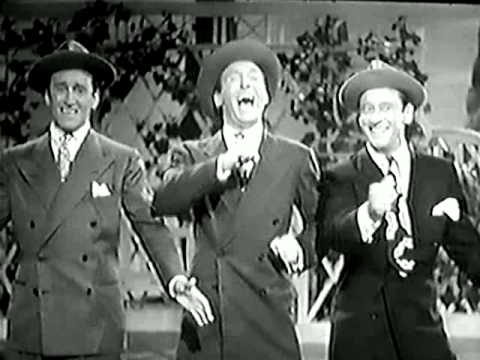 "RITZ Brothers - ""KEEP 'EM LAUGHING"" intentionally goofy song"