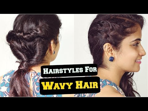 2 Easy Everyday Hairstyles For Wavy Frizzy Hair For School, College, Work/ Ft Slick And Natty