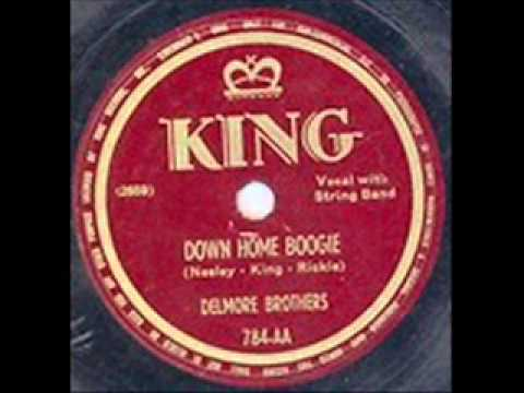 The Delmore Brothers Down Home Boogie 1949