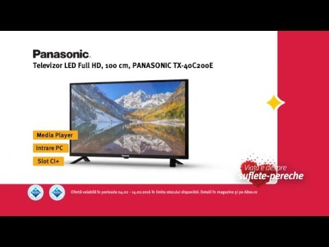 Reclamă ALTEX TV Panasonic - Februarie 2016