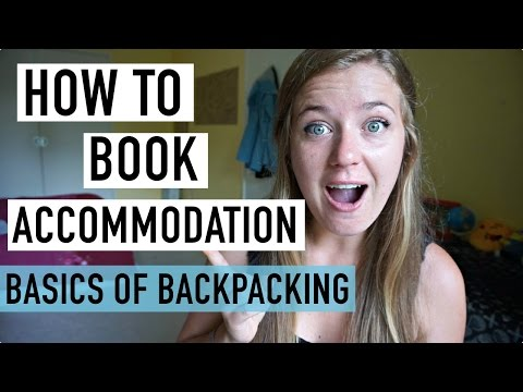 HOW TO BOOK ACCOMMODATION | BASICS OF BACKPACKING #3