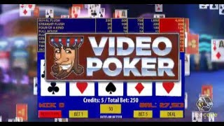 Video Poker  Marketing Ad