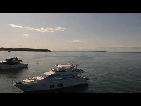 Navy Beach Restaurant MTK - Drone Video