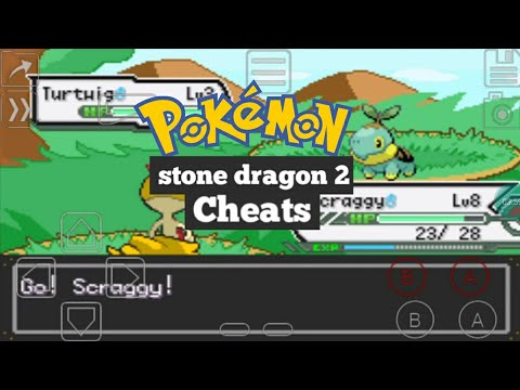 POKEMON STONE DRAGON 2 CHEATS