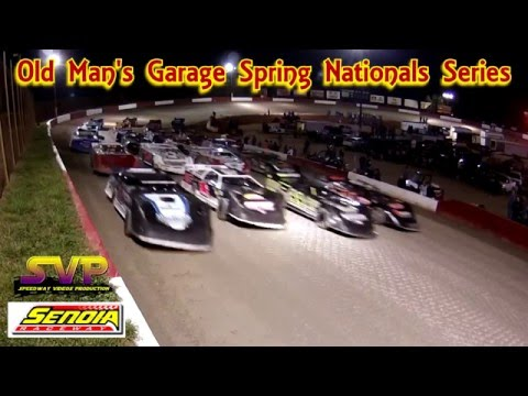 $4,000 to Win Super Feature / Senoia Raceway / Flag Stand Speed Camera / with Announcer Audio