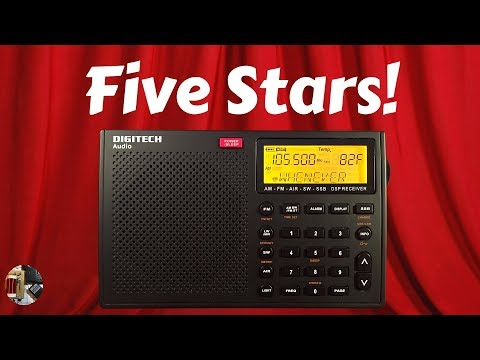 DIGITECH AR-1780 AM FM SW SSB LW AIR Portable Radio Review