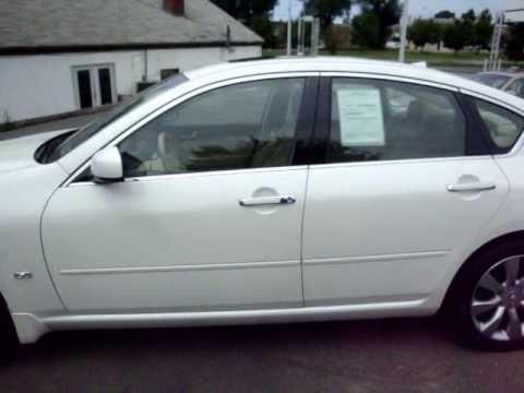 2006 Infiniti M35x White On Beige Youtube