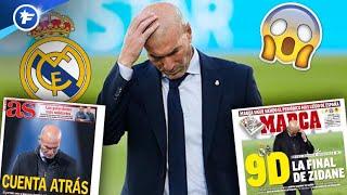 Le Real Madrid fixe un ultimatum à Zinedine Zidane | Revue de presse