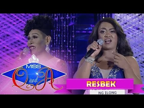 It's Showtime Miss Q & A Resbek: Angelika Mapanganib vs. Queen Isabela Lopez  | Di Ba? Teh! Part 1