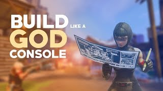 How to BUILD like a GOD! - Fortnite CONSOLE