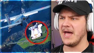 Skydiving Into An Airplane (yes really) - Reaction