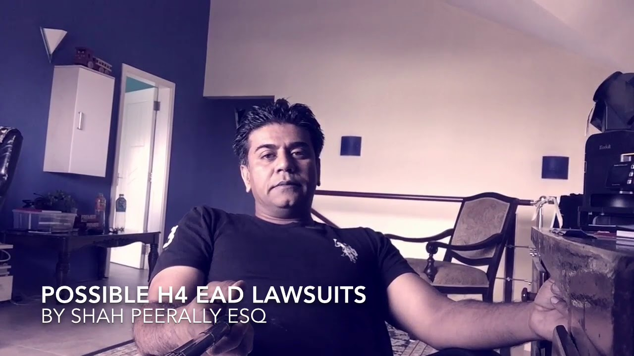 Will there be lawsuits on H4 EAD?