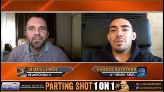 Andres Quintana hopes an impressive win at Combat 19 leads to a title shot