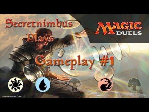 Let's Play Magic Duels  - W/U/R Control Deck - Gameplay #1