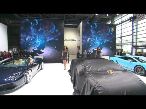 Lamborghini Gallardo: new model range - Paris Motor Show 2012 Press Conference