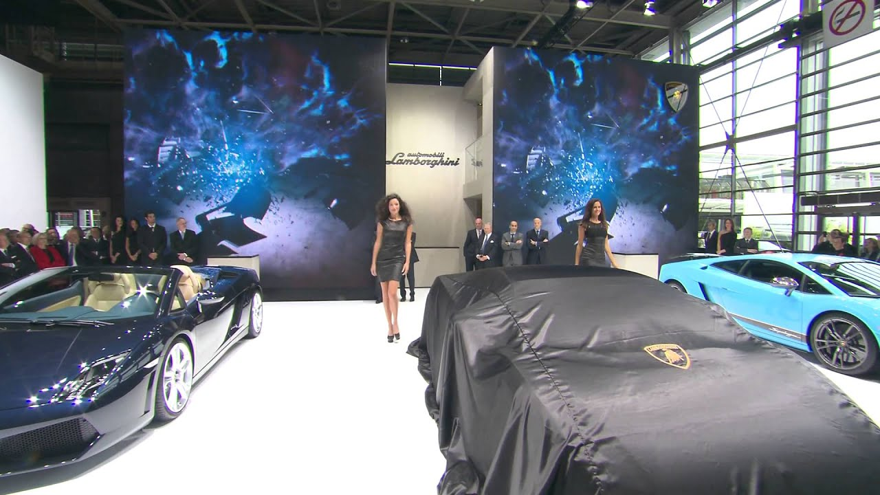 Lamborghini Gallardo: new model range - Paris Motor Show 2012 Press Conference