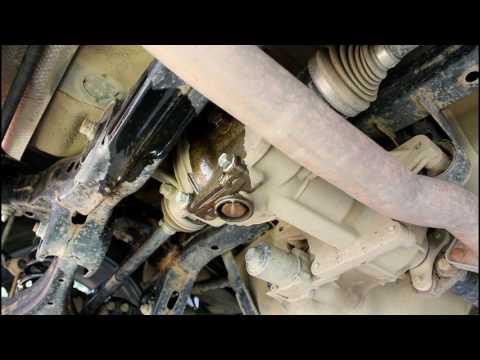 Hyundai ix35 Хендай Ай Икс 35 2014 года Замена масла в раздатке и заднем редукторе