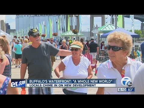 Business Keeps Buffalo's Waterfront Booming