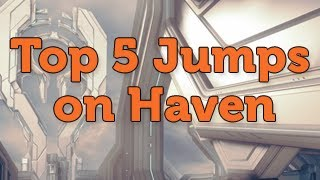 Top 5 HAVEN Jumps - Halo 4