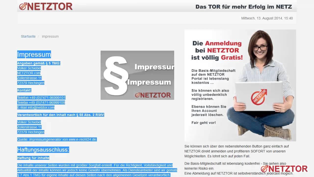 WordPress Blog Impressum Seite anlegen und Blog sicher ...