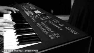 Bryan White - God gave me you by Luv4musiQ [Piano Instrumental Cover]