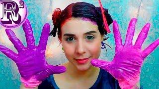 Как покрасить волосы ярко ТОНИКОЙ без осветления/ сплит окраска/ How to: Dye Split hair ✂(, 2017-03-02T00:18:53.000Z)