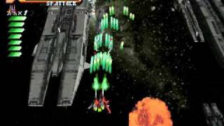 Raystorm - Stage 4 Gameplay