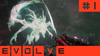 Stumpt Plays - Evolve - #1 - Wraith Womped (Multiplayer Gameplay)