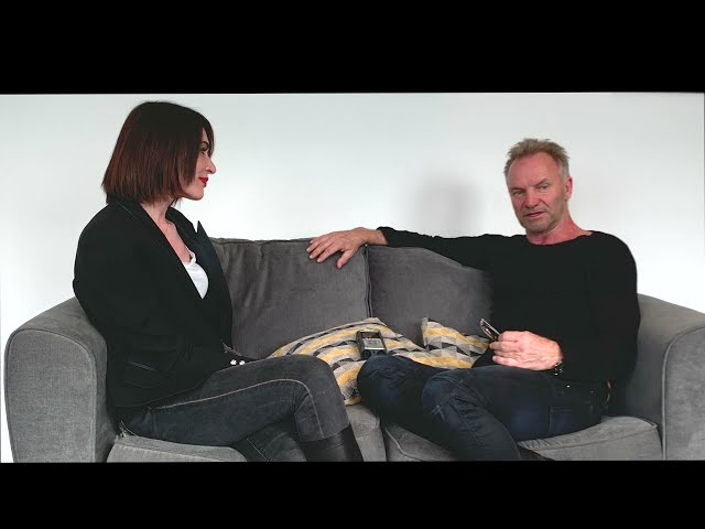 Exclusive interview backstage with Sting talking about his fitness & body by lara method