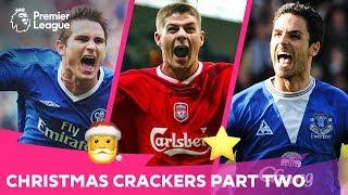 CHRISTMAS CRACKERS 2 | Amazing Long Shot & Beautiful Premier League Goals