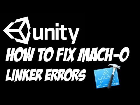 Unity Lessons - Xcode - How to Fix Mach-O Linker Errors when Building in Xcode from Unity