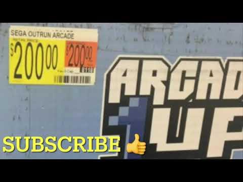 Arcade1Up Super Cheap Out Run At Walmart Arcade 1Up Price from rarecoolitems