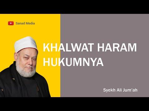 Hukum Khalwat dalam Islam dan Batasannya