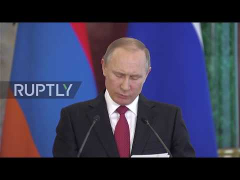 Russia: 'Mutually acceptable solutions' sought for Nagorno-Karabakh conflict - Putin