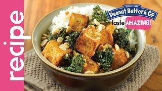 Peanut Butter Broccolini Tofu Stir Fry Recipe