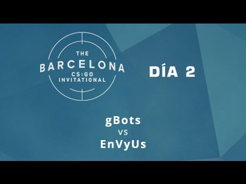 gBots vs EnVyUs [Mirage] - Día 2 - ESL Expo Barcelona CS:GO Invitational - Español