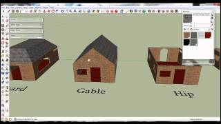 Google Sketchup - Roofing Tutorial
