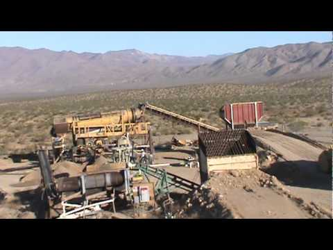 Sleepy Bear Mining Commercial Production Placer Gold Mine 2011