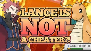 Lance Is NOT a CHEATER?!: Pokemon Theory