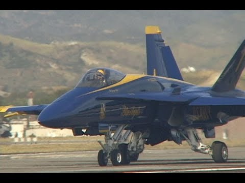 U.S.NAVY BLUE ANGELS 1997 in MCAS El Toro Air Show