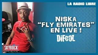 "Gambar cover Niska ""Fly Emirates"" en live #LaRadioLibre"