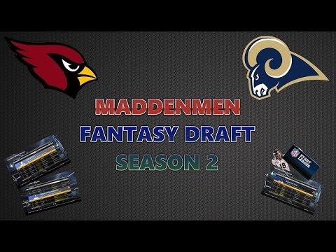 Madden 15 fantasy draft breakdown w commentary madden men fantasy