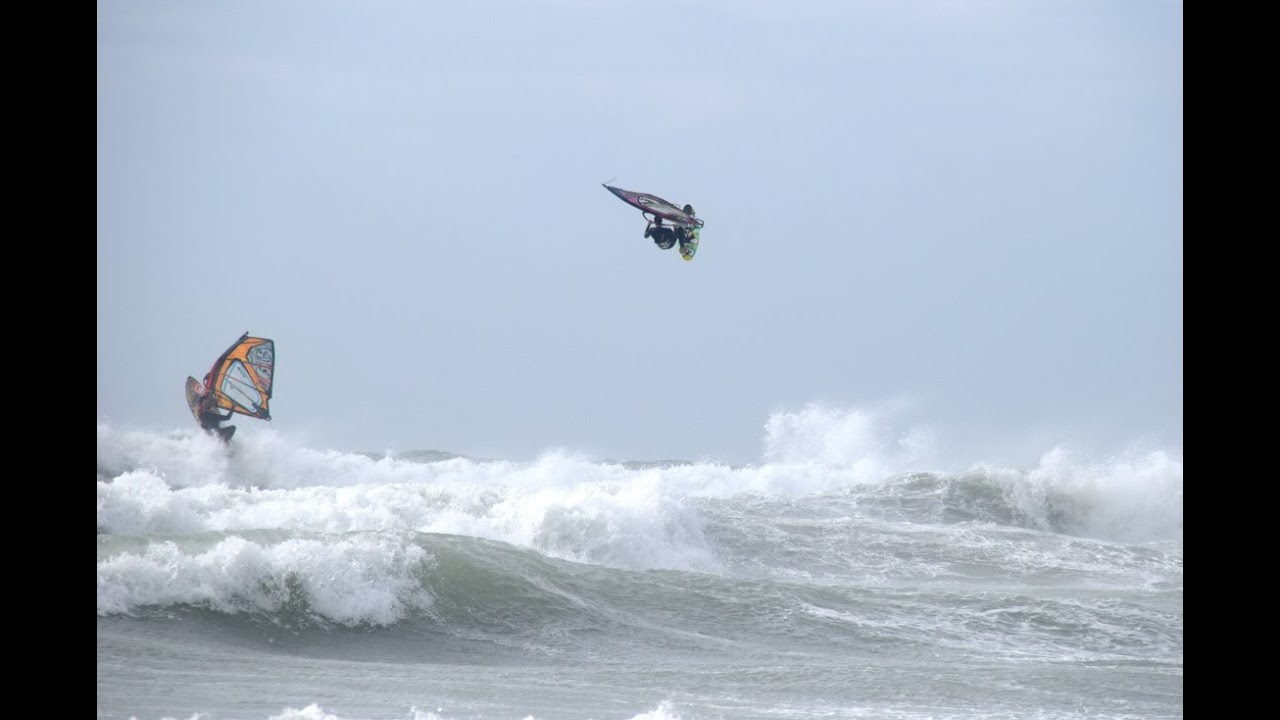 One Summer Windsurfing Chez Les Ch Tis Wissant Youtube