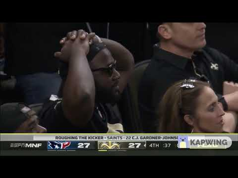 The Final Minute Of The Saints vs Texans Game | Week 1