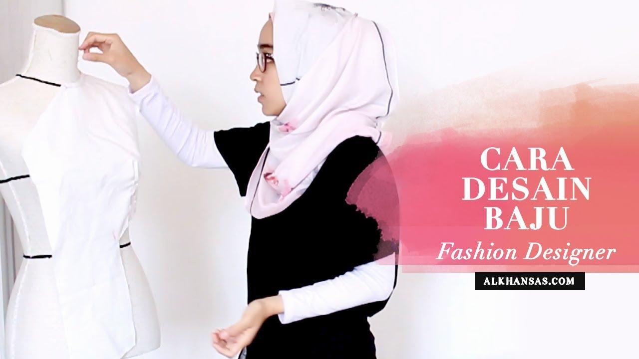 Cara Mendesain Baju Wanita seperti Fashion Designer (Draping Technique)