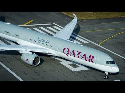 Qatar Airways QR523/QR7 Goa to London Heathrow via Doha. Airbus A321/A350 economy flight experience.